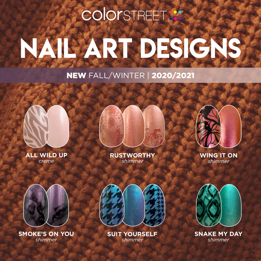 Color Street Fall 2020 Cute Nails And Coffee
